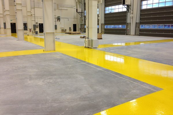 Precision Epoxy Flooring industrial services